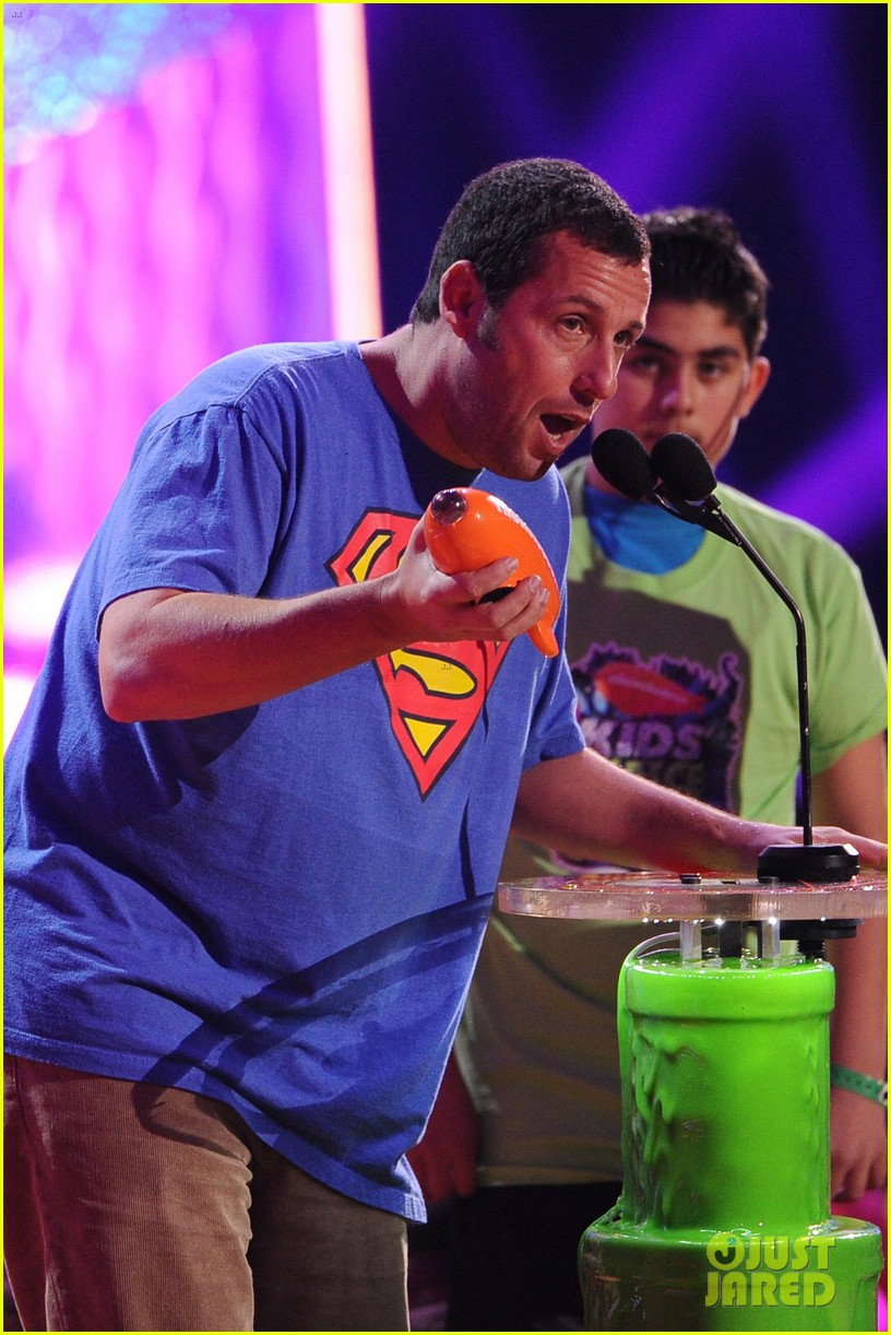 kevin hart adam sandler kids choice awards 2014 233081489