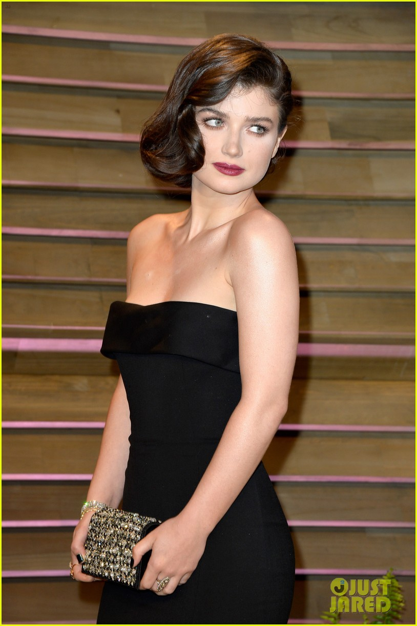 eve hewson bono attend vanity fair oscar party after performing 013064793