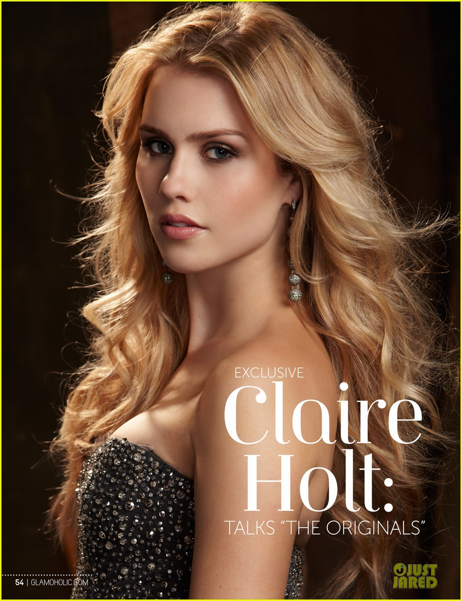 claire holt covers glamoholic 06