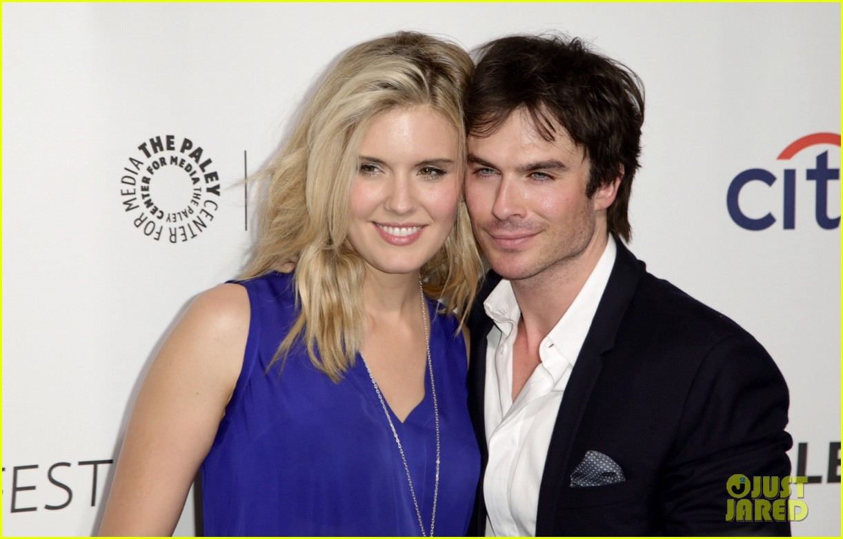 ian somerhalder reunites with maggie grace lost cast at paleyfest 10