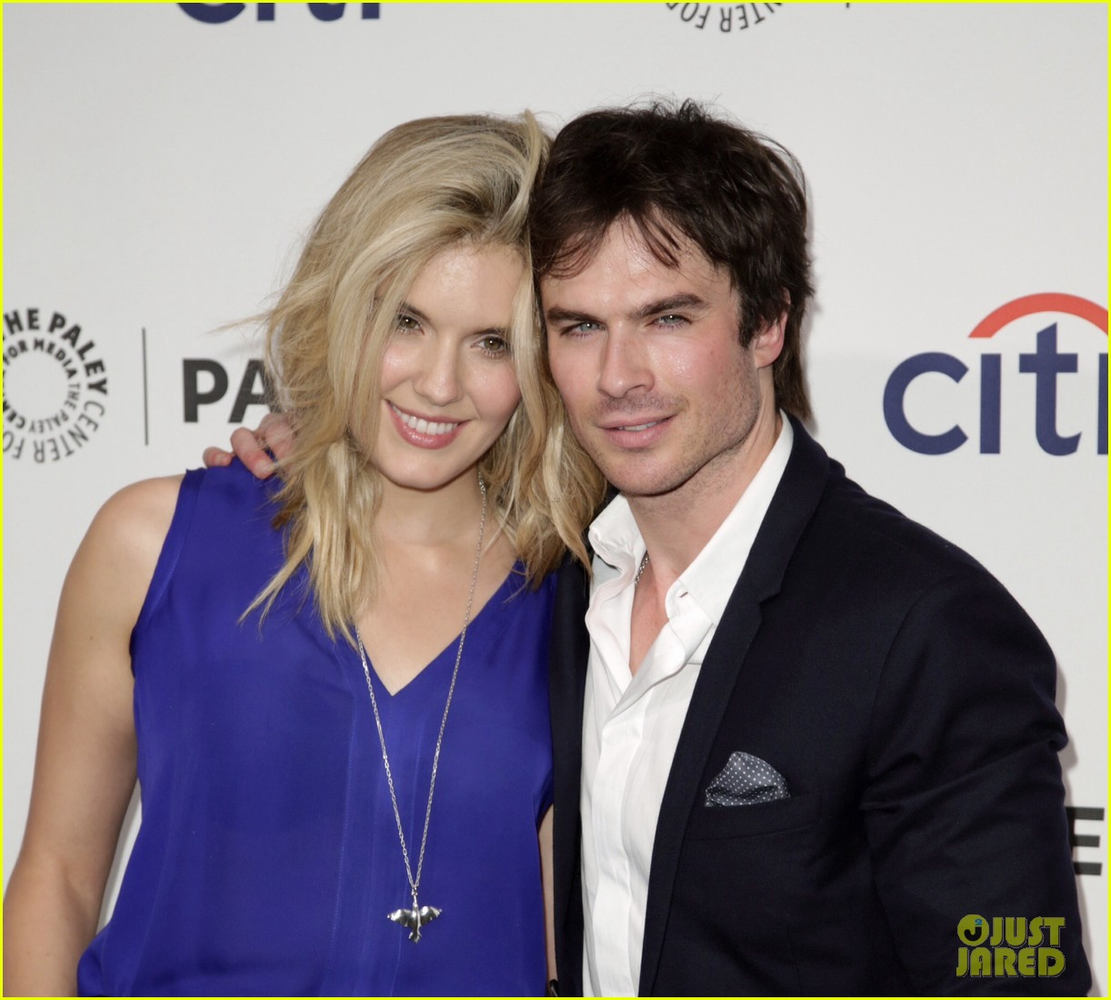 ian somerhalder reunites with maggie grace lost cast at paleyfest 11