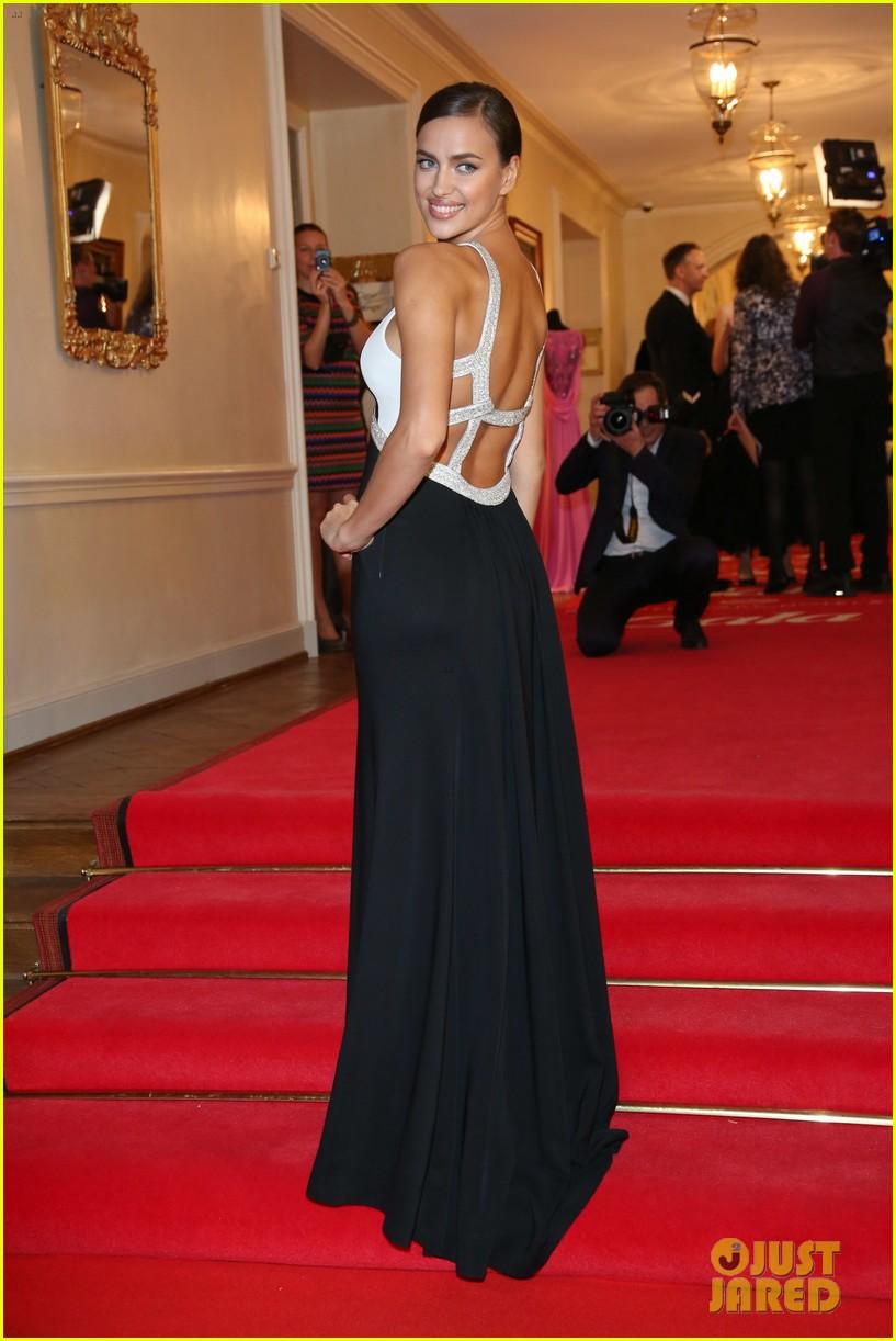 irina shayk assets plunging neckline gala spa awards 2014 07
