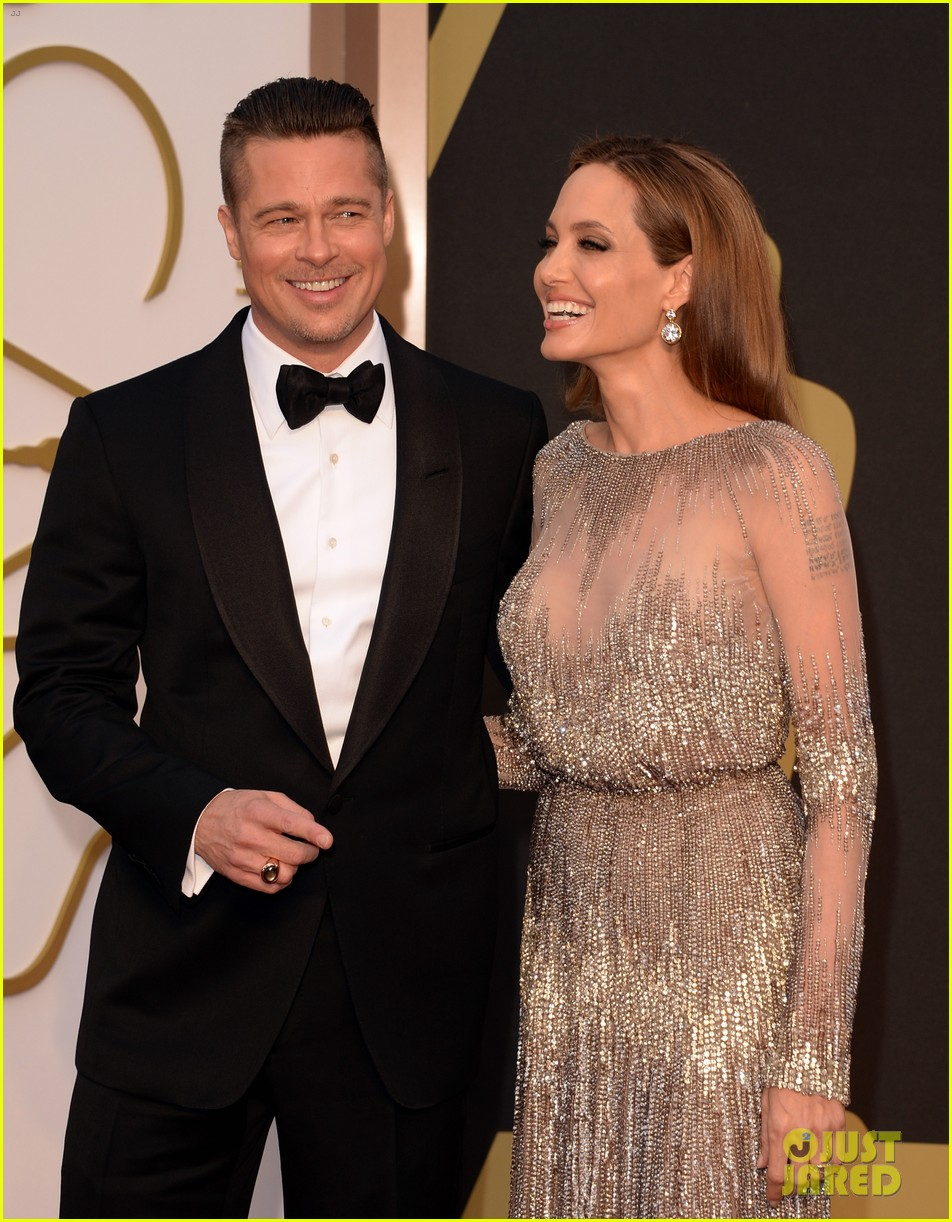 brad pitt angelina jolie oscars 2014 red carpet 04