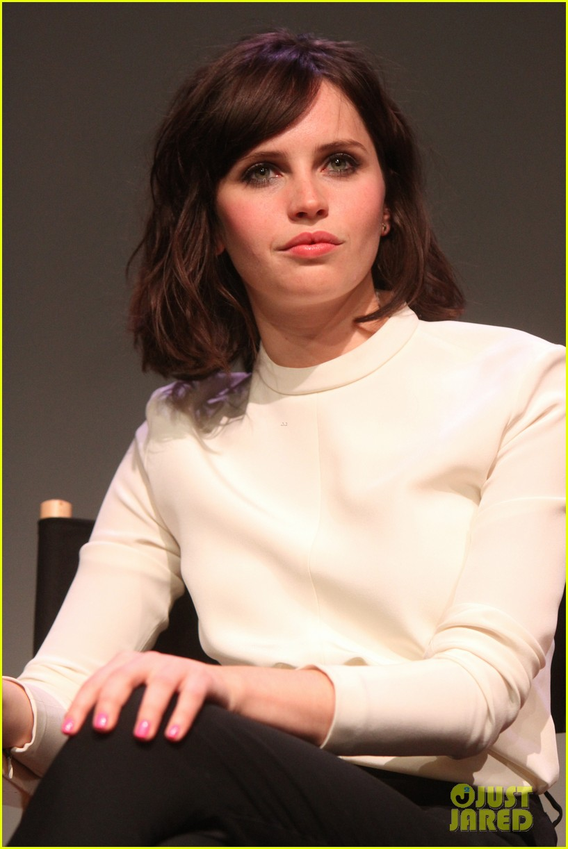 felicity jones breathe in screening apple store presents 023073869