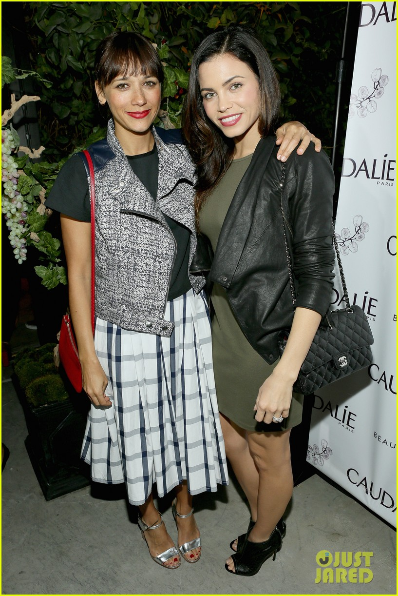 rashida jones jena malone caudalie boutique spa opening 04