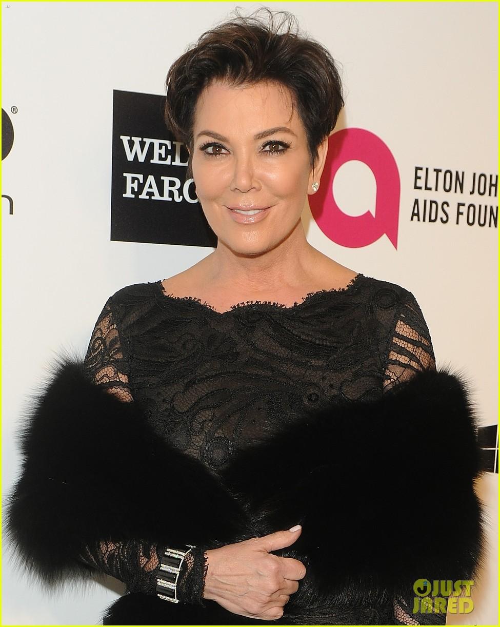 kardashian sisters kris jenner elton john oscars party 2014 08