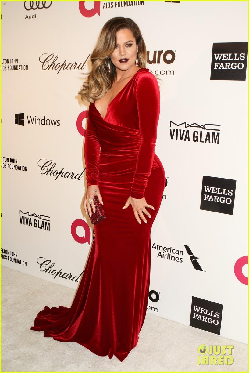 kardashian sisters kris jenner elton john oscars party 2014 14