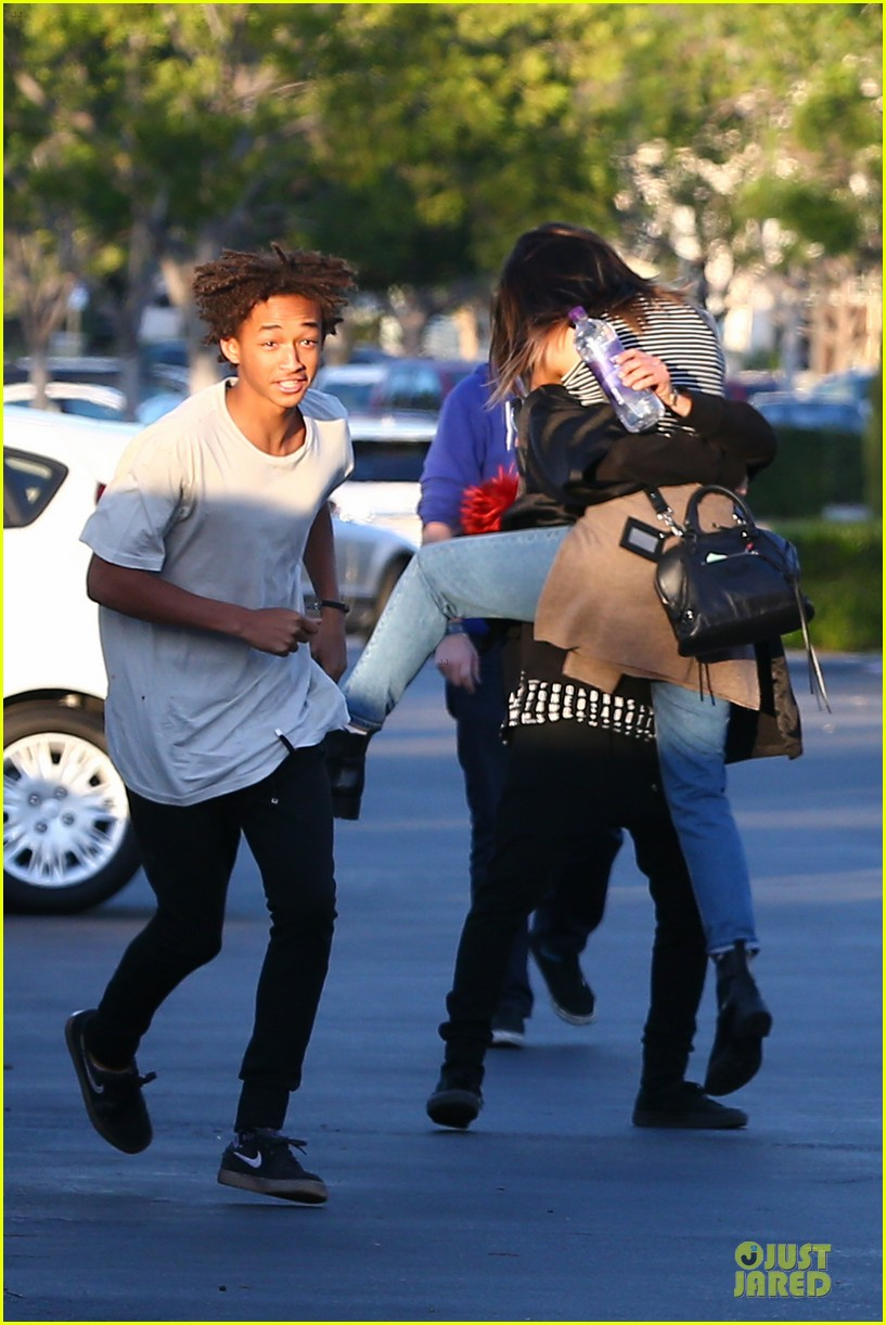 kendall kylie jenner meet up with super excited jaden smith 12