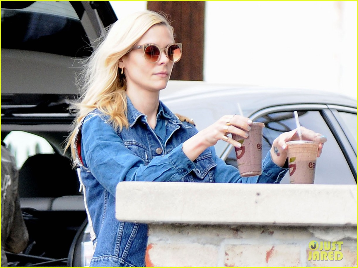 jaime king goes for an all denim look in weho 023077048
