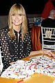 heidi klum is a polkadot sheer host at babies event 04