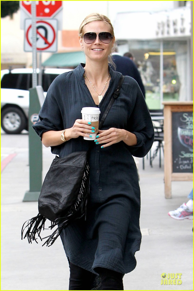 heidi klum shows beauty of being pregnant 023076401