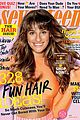 lea michele shows toned torso for seventeen april 2014 01