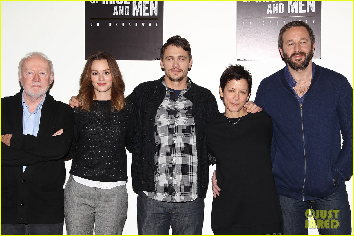 leighton meester james franco of mice men broadway preview 133067171