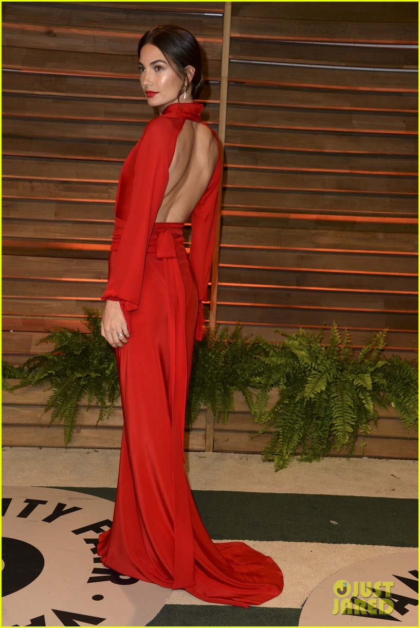 lily aldridge vanity fair oscars party erin heatherton 2014 01