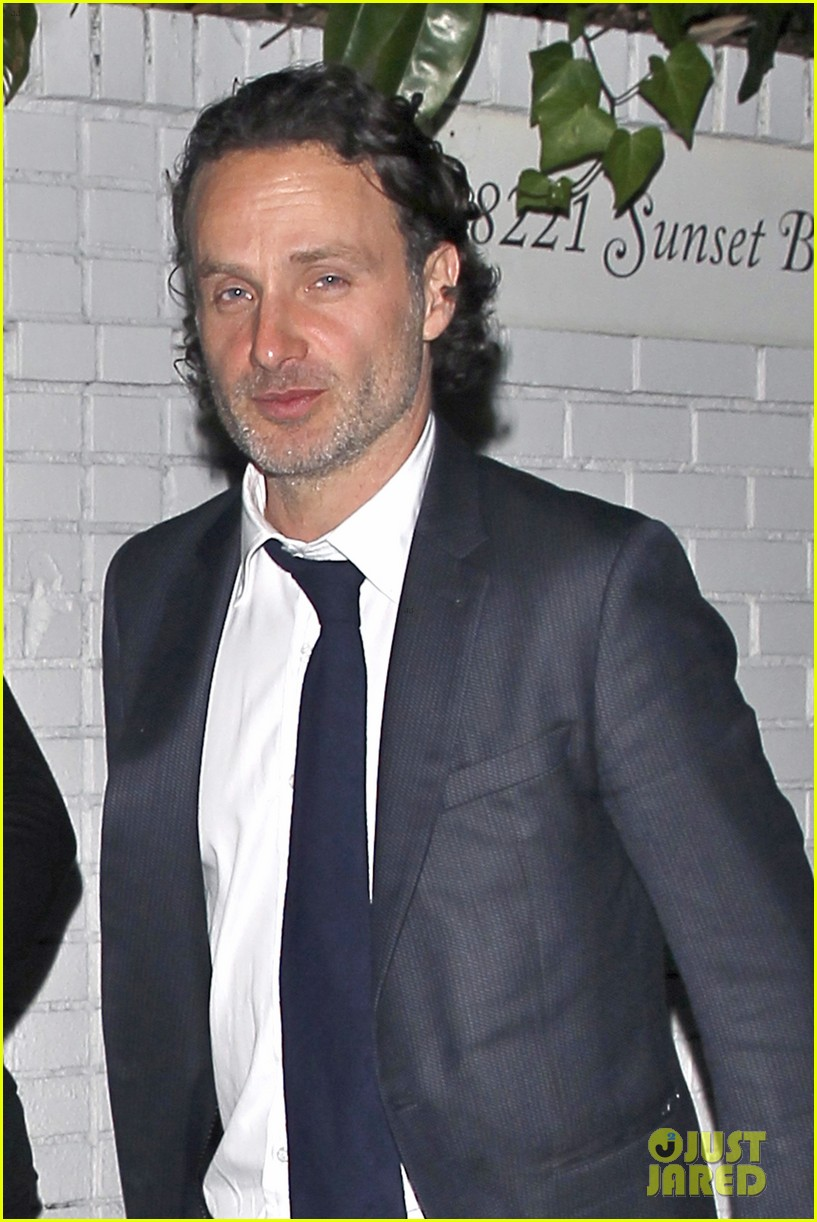 andrew lincoln steps out after violent walking dead finale 043082142