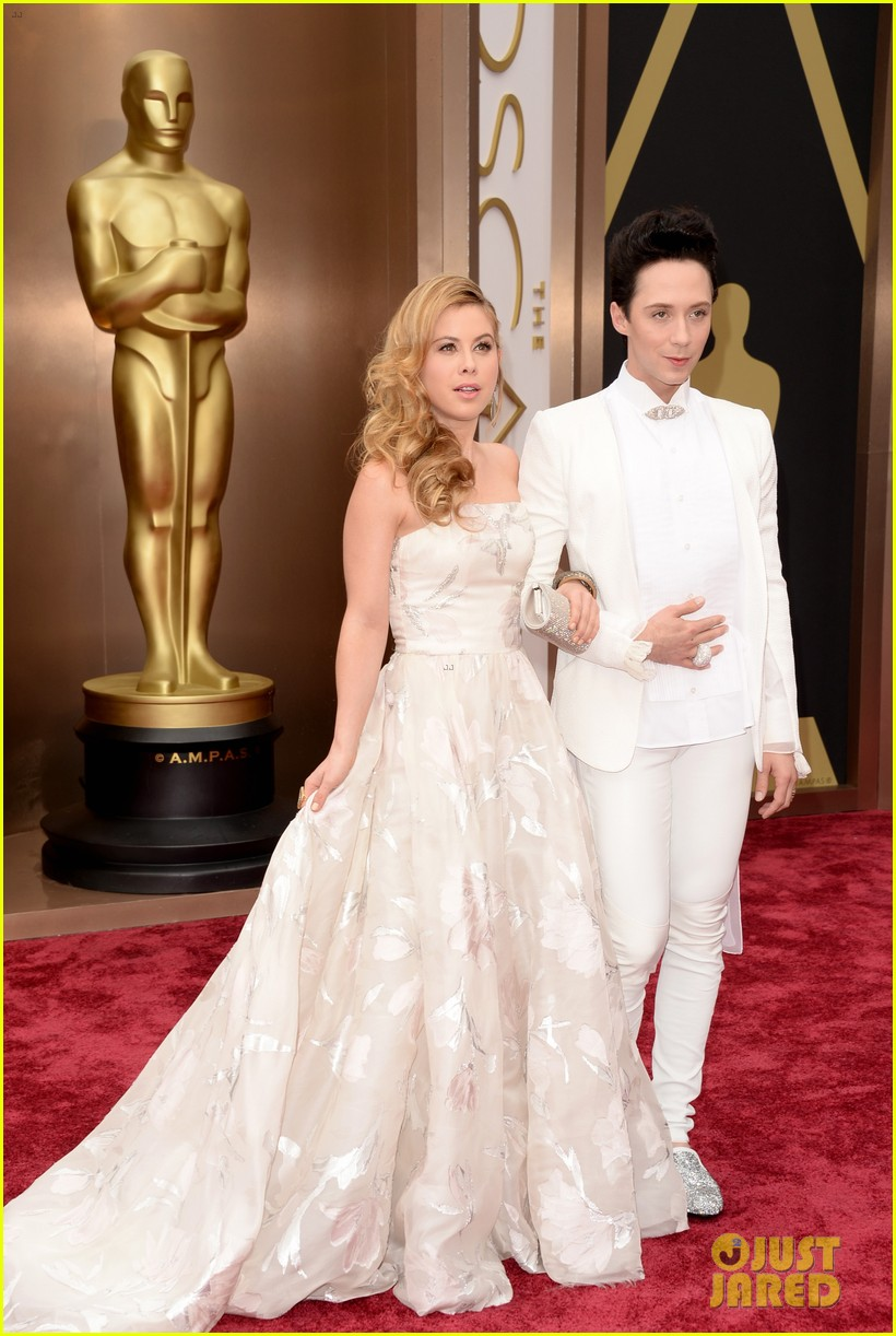tara lipinski johnny weir skate their way to oscars 2014 04