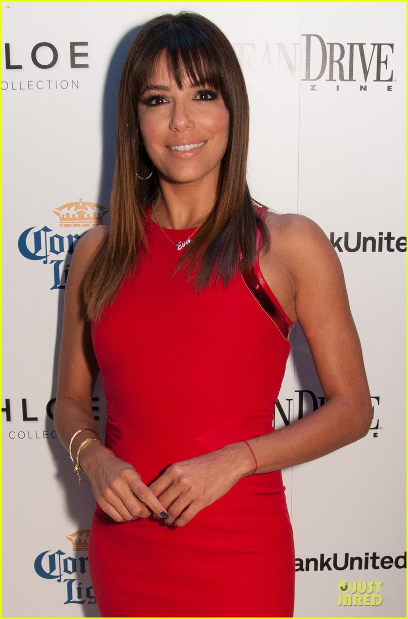 eva longoria ocean drive cover party 13