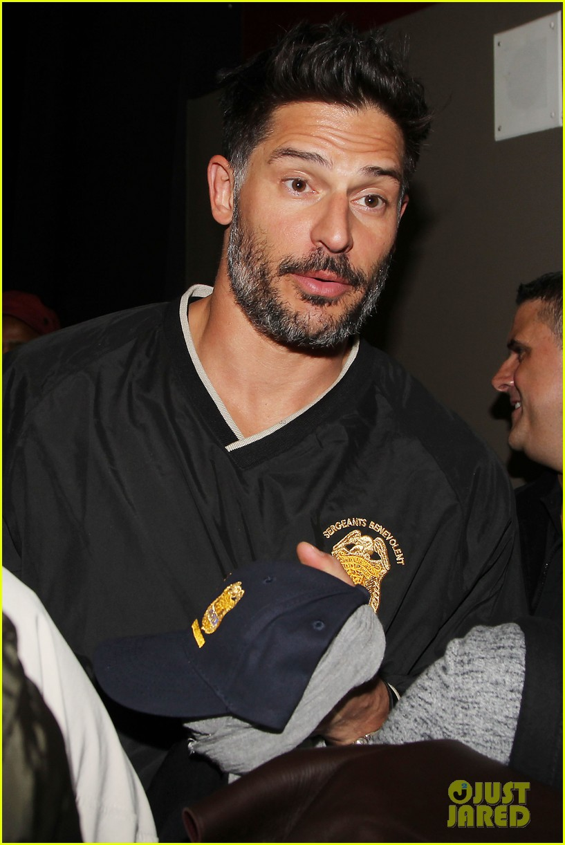 joe manganiello arnold schwarzenegger surprise nyc law enforcement 30