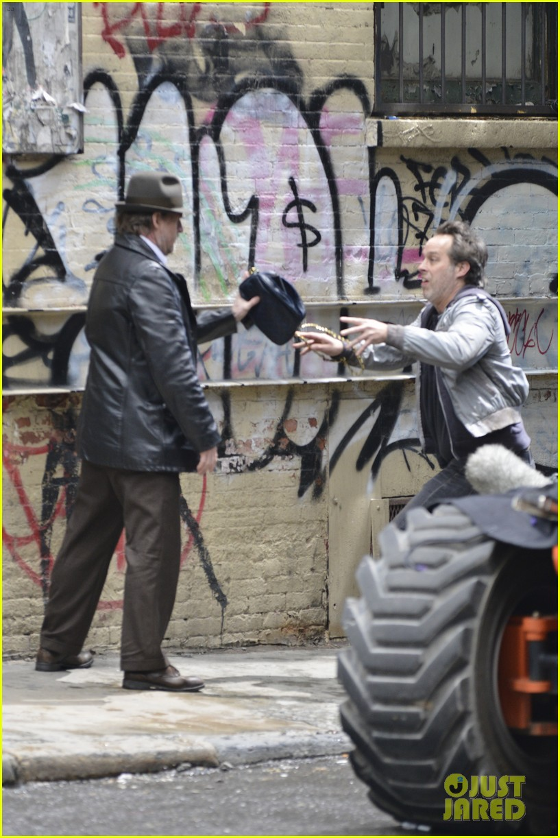 ben mckenzie donal logue gotham fight scene 223075878