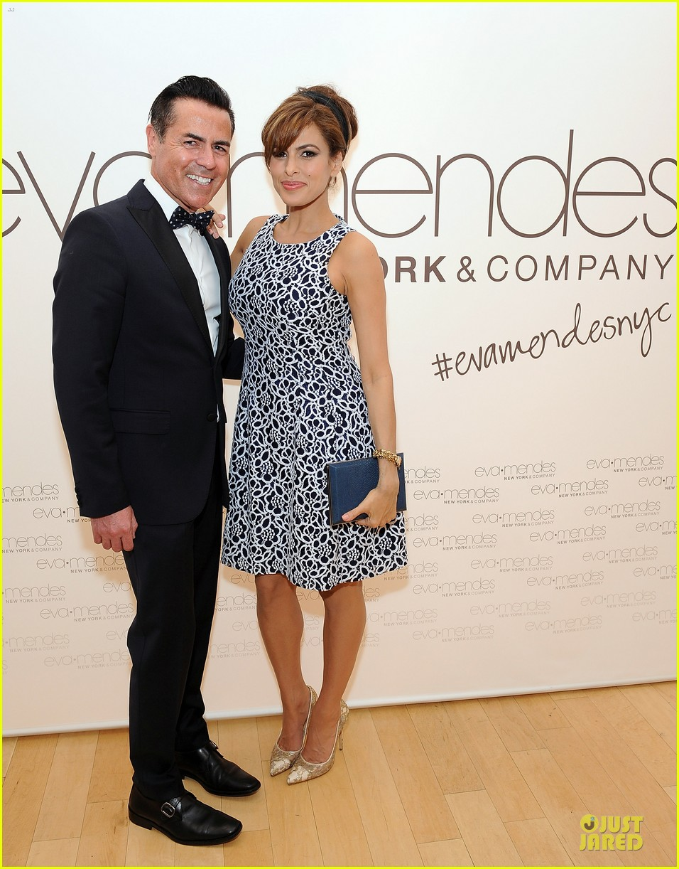 eva mendes new york company collection launch 01