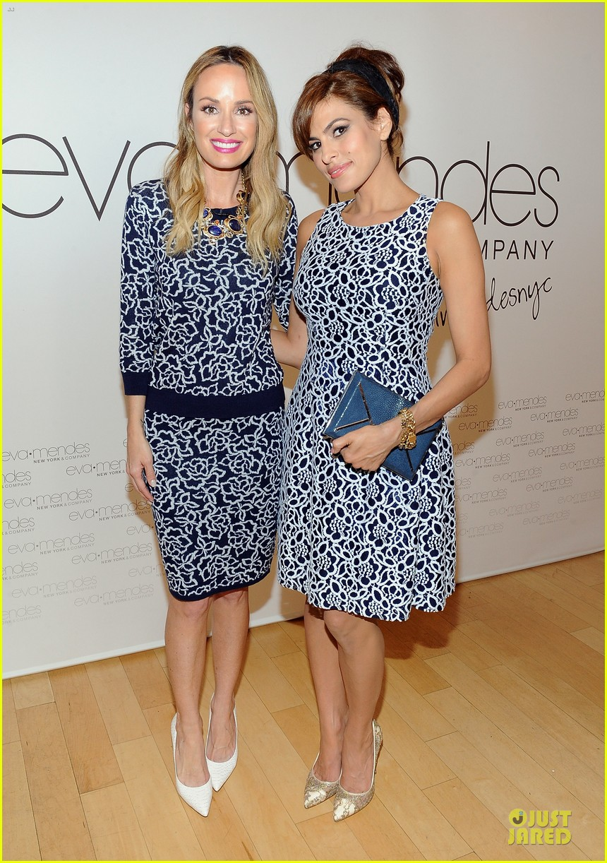 eva mendes new york company collection launch 033074503