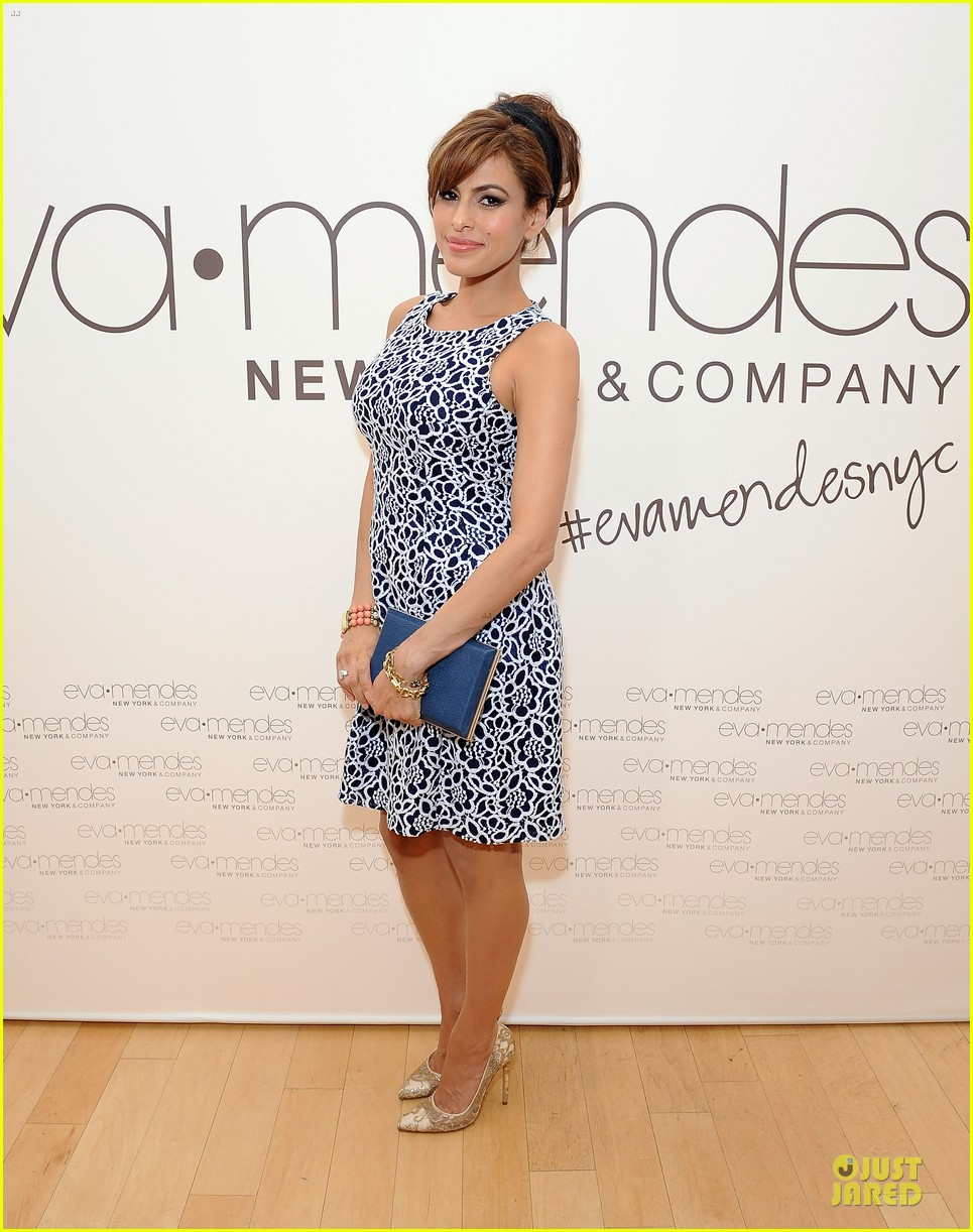 eva mendes new york company collection launch 07