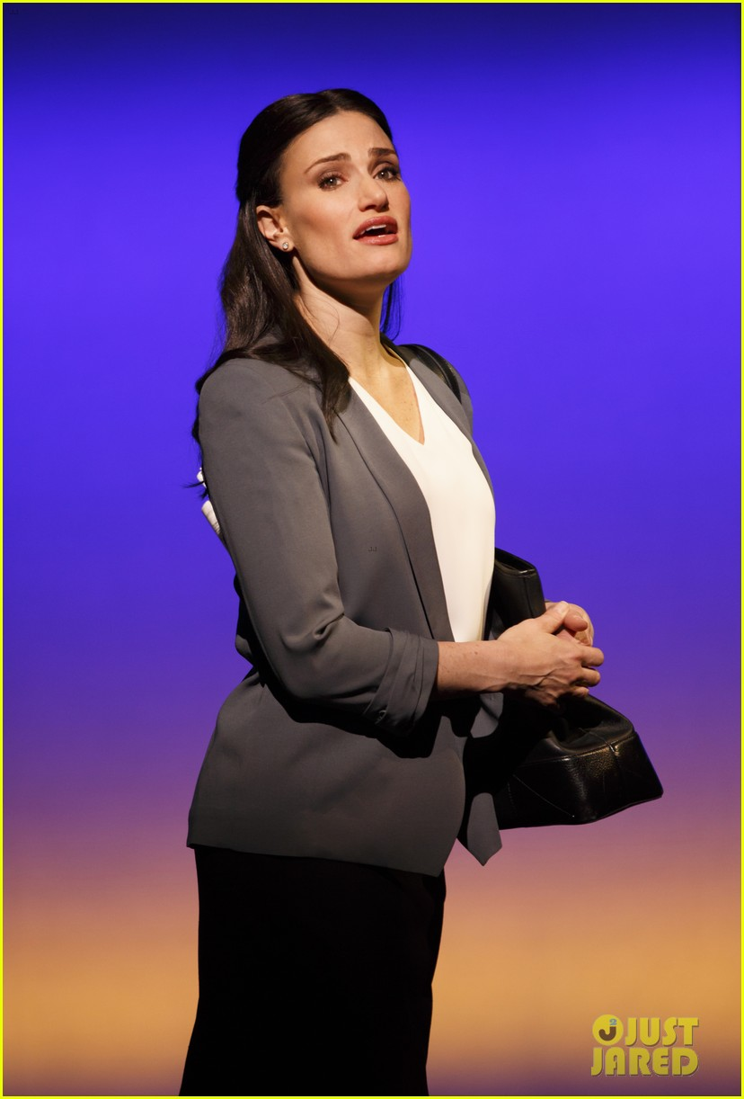 idina menzel if then broadway photos video 02