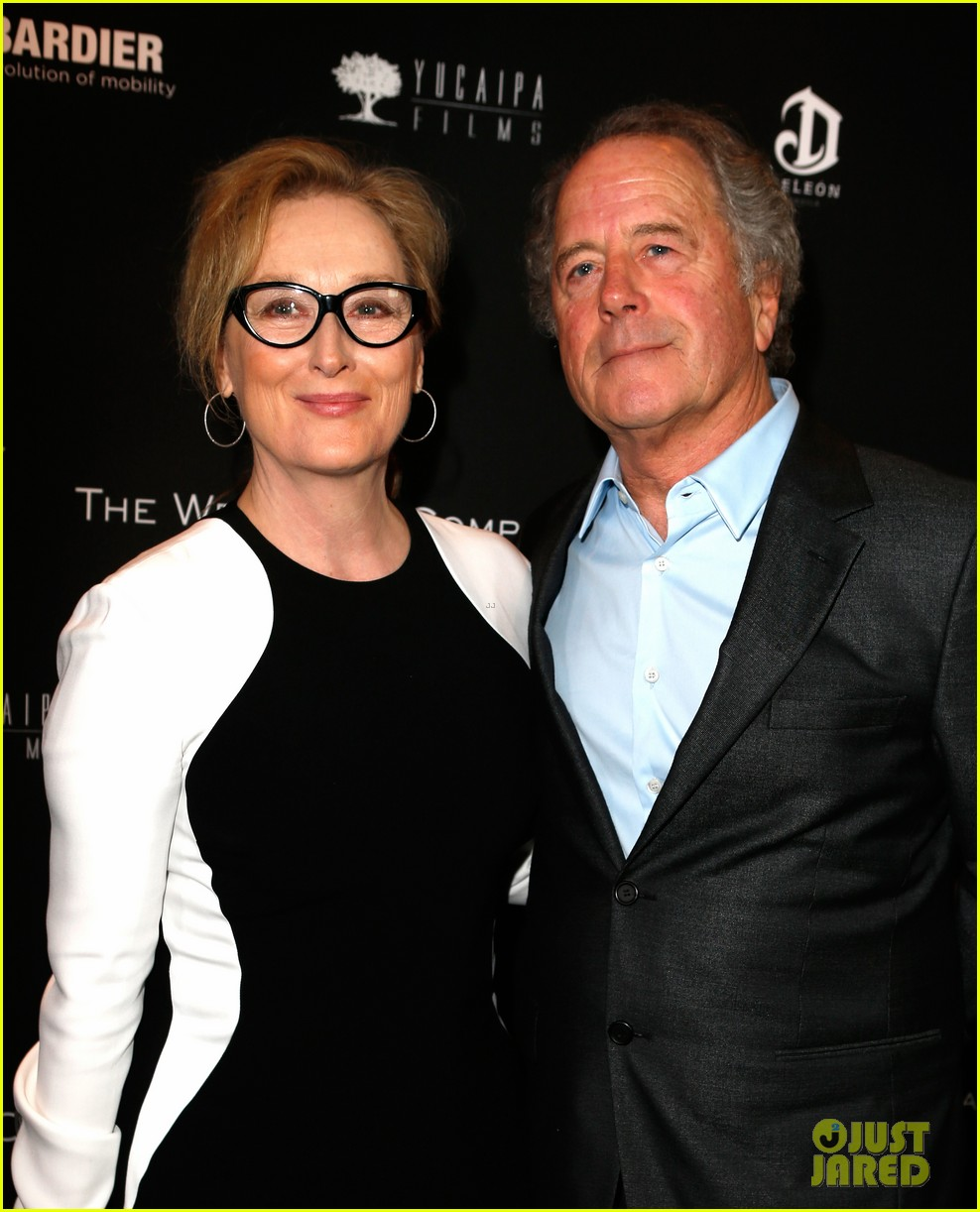 meryl streep christoph waltz pre oscars party attendees 10