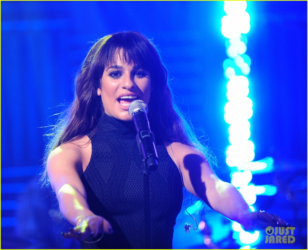 lea michele big morning buzz with nick lachey 11