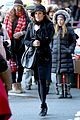 lea michele switches outfits around glee nyc 16