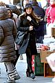 lea michele switches outfits around glee nyc 18