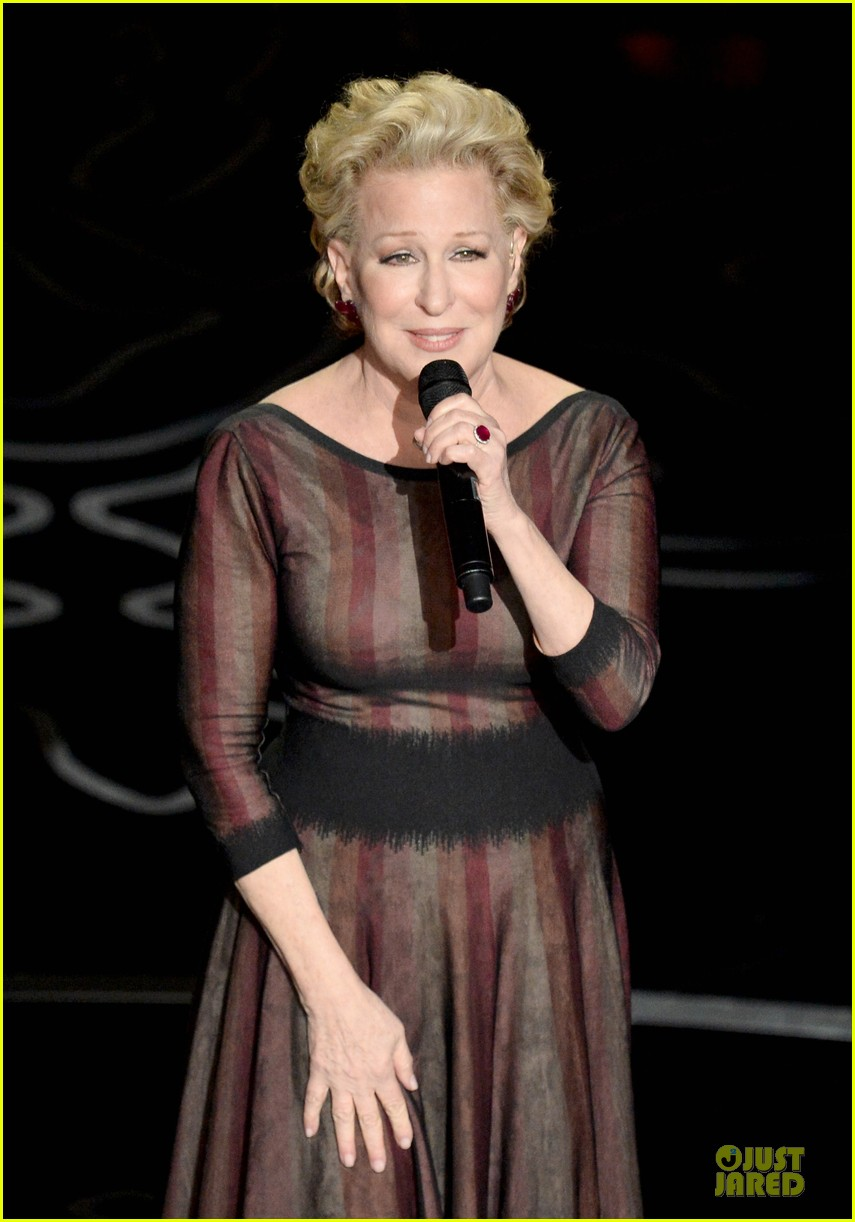 bette midler performs wind beneath my wings at oscars 2014 video 05