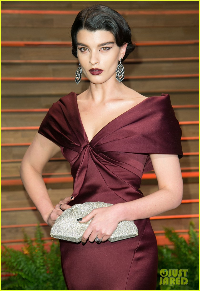 alyssa miller crystal renn vanity fair oscar party 2014 033064897
