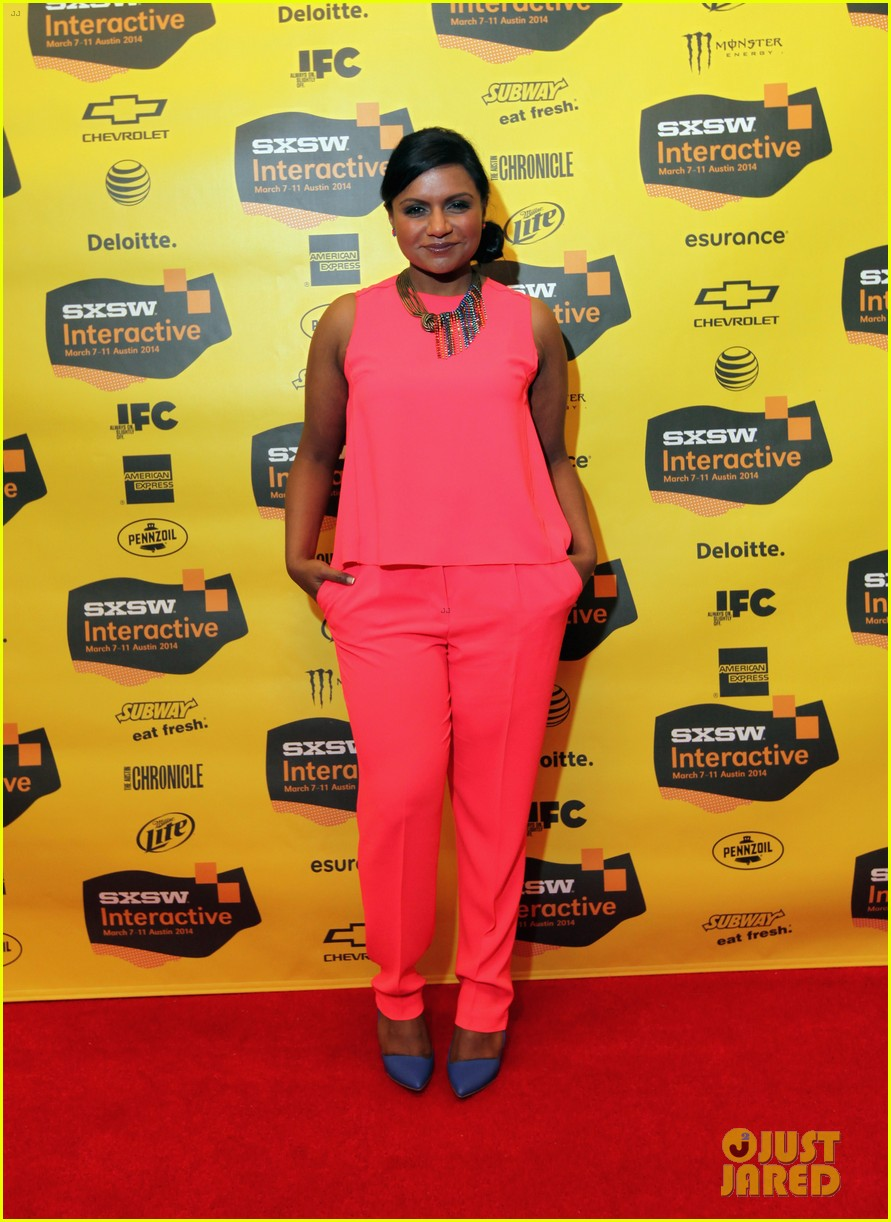 olivia munn mindy kaling marie claire sxsw dinner 03