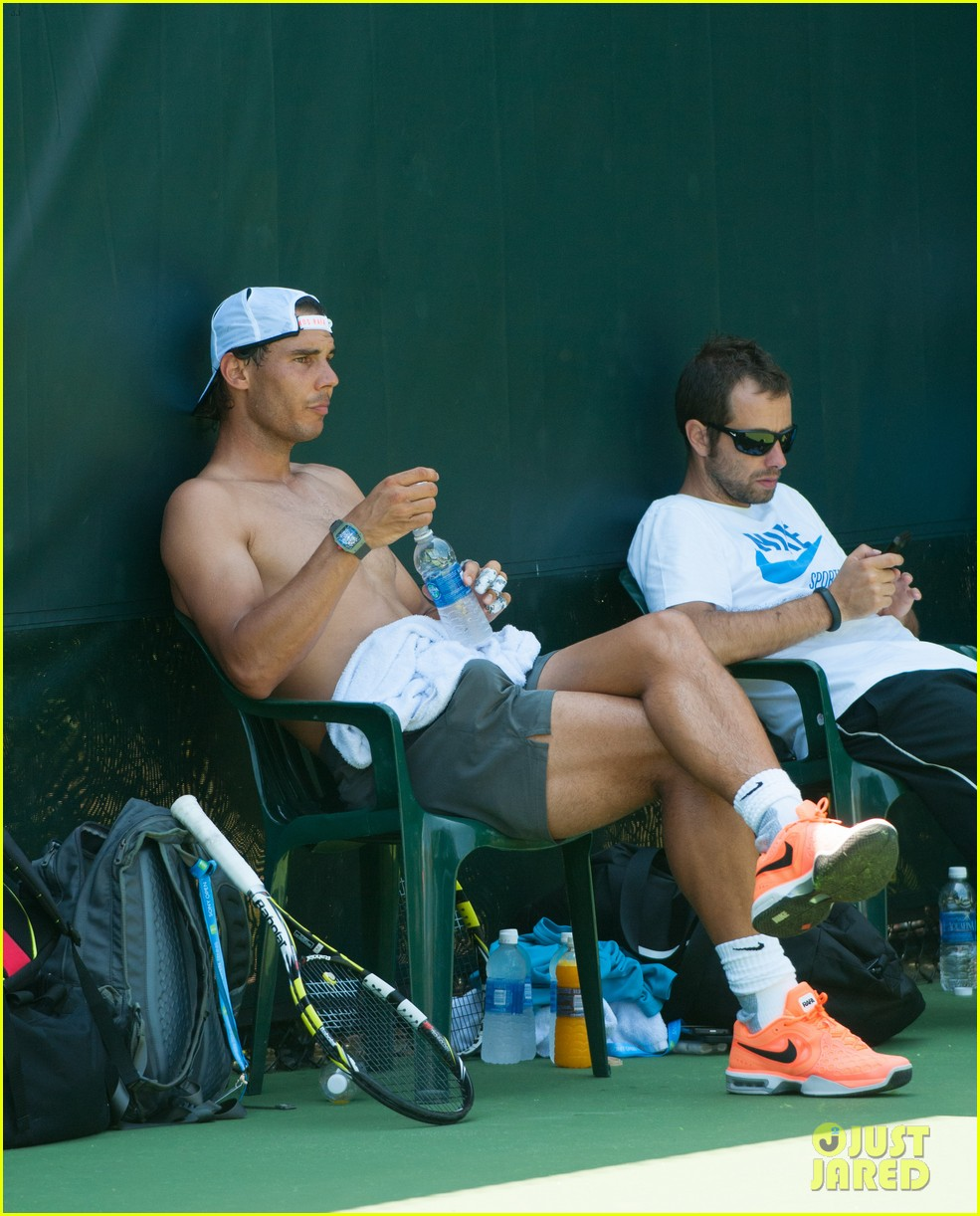 rafael nadal shirtless sony open 04