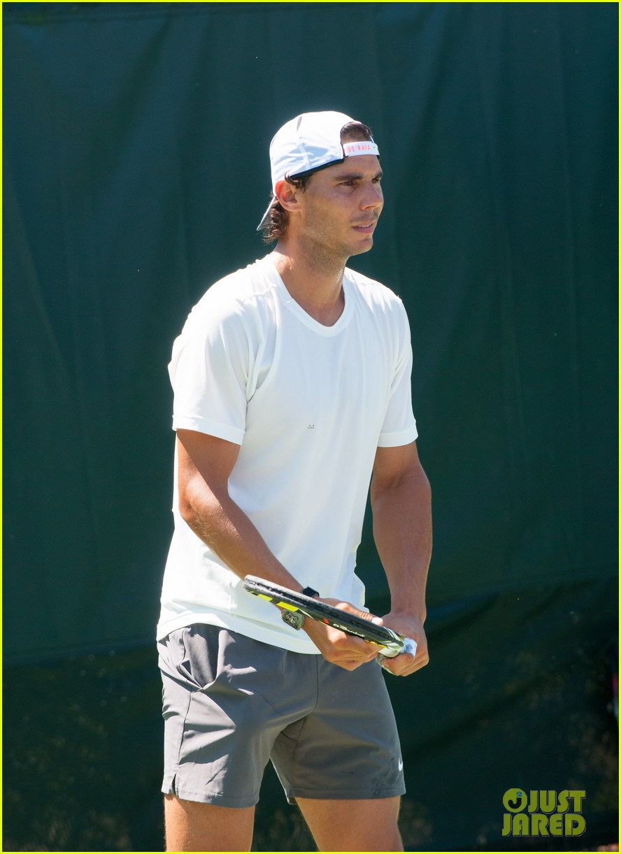 rafael nadal shirtless sony open 173077671
