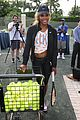 novak djokovich williams sisters play tennis for charity 12
