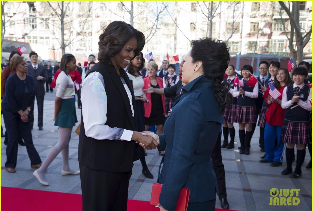 michelle obama travels around china three days of photos 12