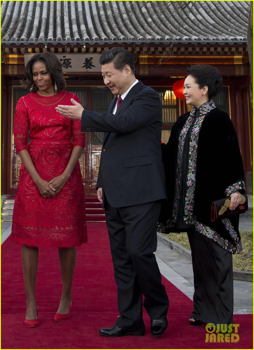 michelle obama travels around china three days of photos 15