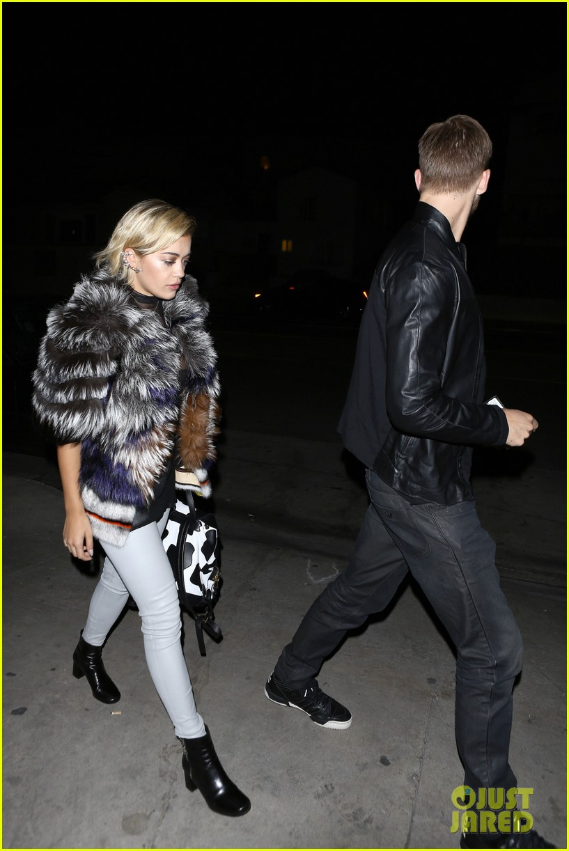 rita ora calvin harris share tender moment 20