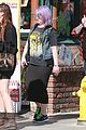 kelly osbourne gets back to her rocker roots in a misfits t shirt 05