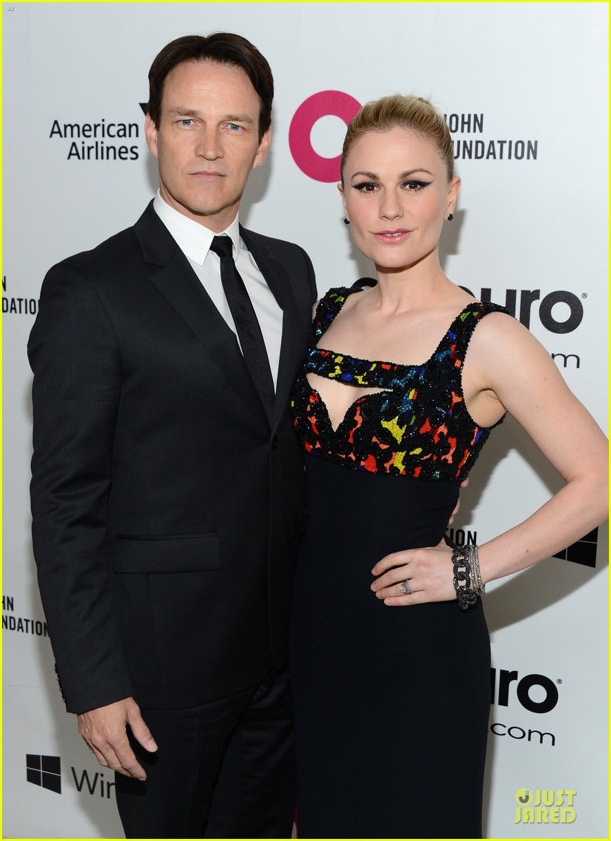 anna paquin stephen moyer elton john oscars party 2014 02