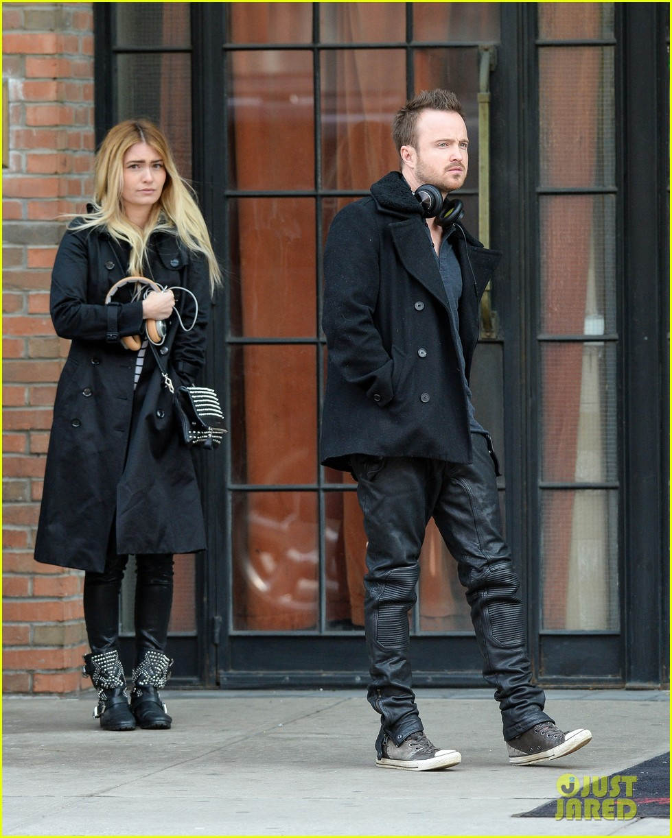 aaron paul cant wait to have kids hopes they are mini versions lauren parsekian 03