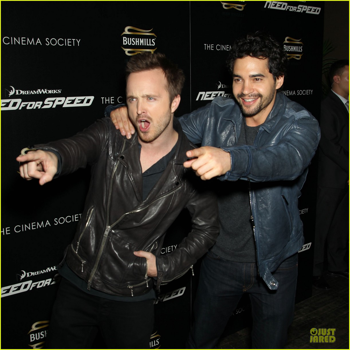 aaron paul ramon rodriguez need for speed nyc screening 04