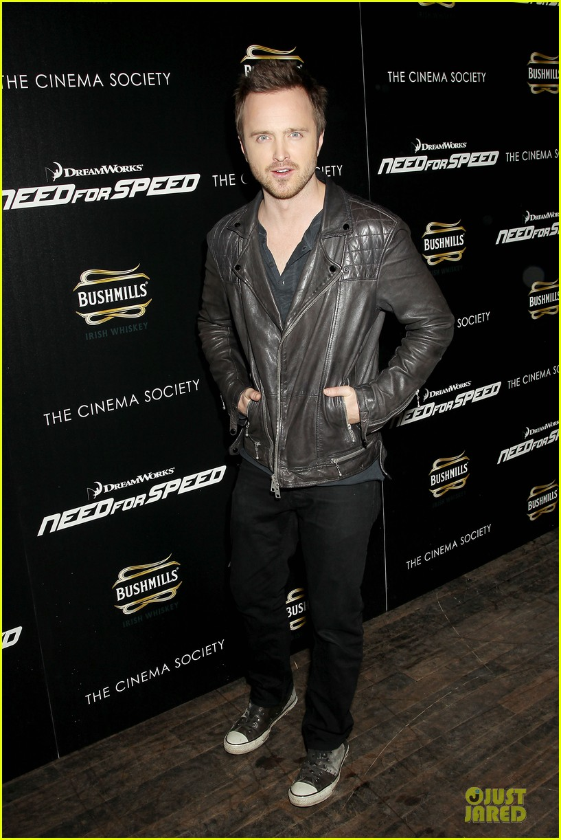 aaron paul ramon rodriguez need for speed nyc screening 093070143