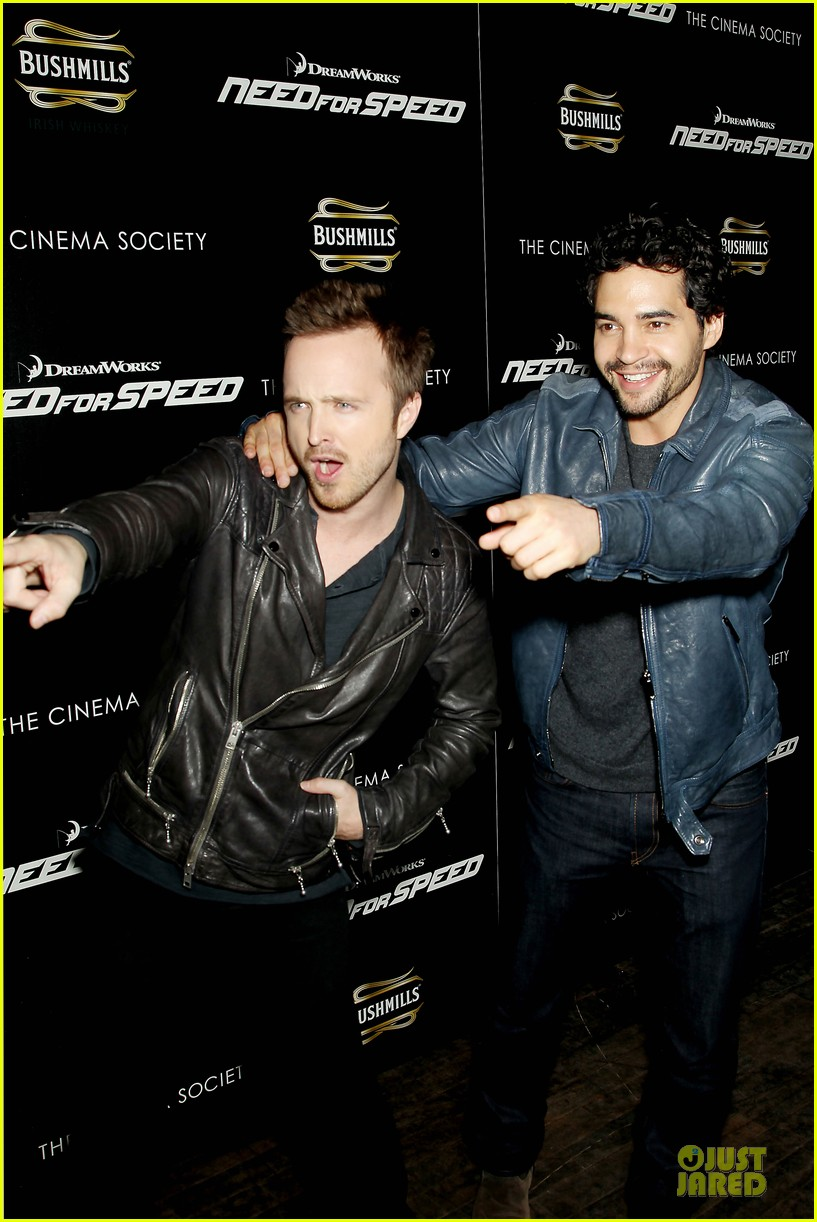 aaron paul ramon rodriguez need for speed nyc screening 16