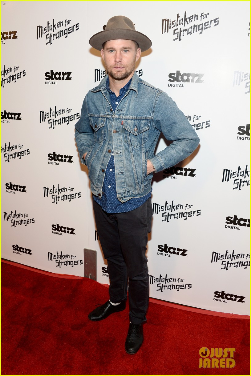 busy philipps darren criss step out for mistaken for strangers screening 05