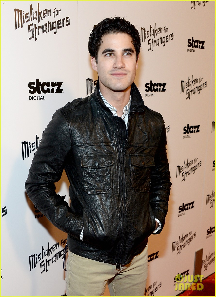 busy philipps darren criss step out for mistaken for strangers screening 13