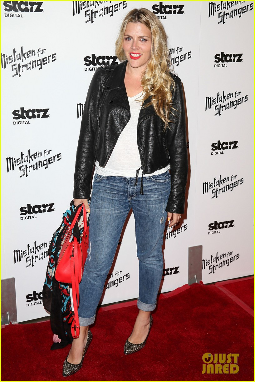 busy philipps darren criss step out for mistaken for strangers screening 14
