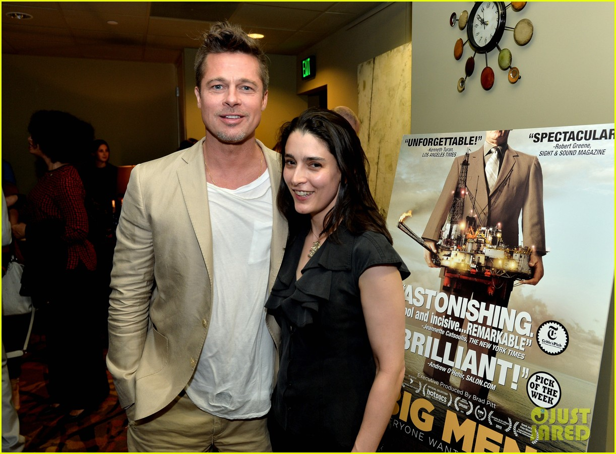 brad pitt big men documentary screening 293079449